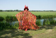 """Textiel festival Weerribben Thema """"Vreemde Vogels """""""